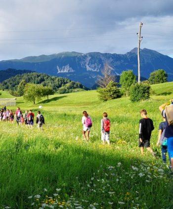 Osnovnošolci – Gozdno kraljestvo